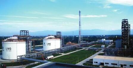 杨凌LNG储备调峰扩能工程完成储罐基础施工