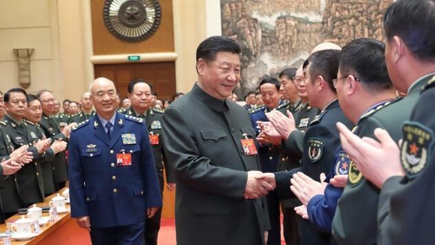 习近平主席在解放军和武警部队代表团重要讲话在驻陕官兵中引起强烈反响.jpg