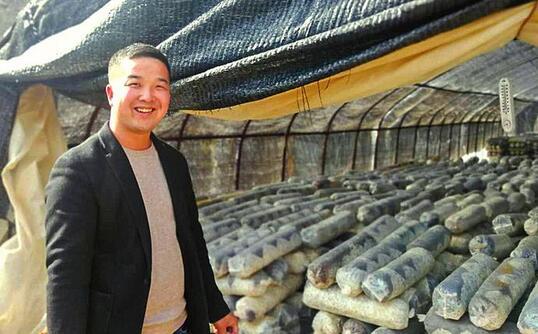 山阳县脱贫群众张志飞带领贫困乡亲共同致富的故事.jpg