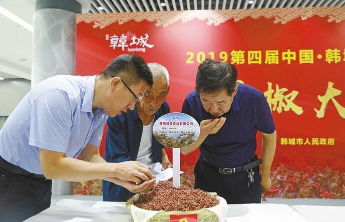 天价!韩城2.5公斤花椒拍卖了1.1万元