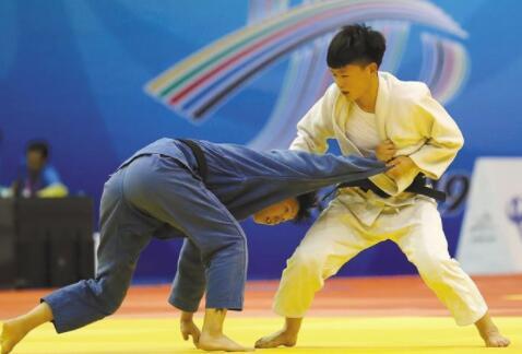 娱乐世界注册柔道女将陈桓夺得柔道项目冠军