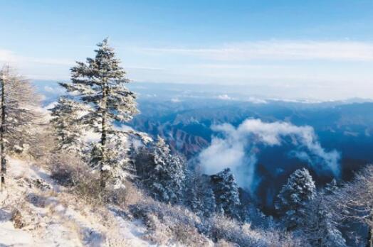 秦岭太白山海拔3000米以上地方普降中到大雪
