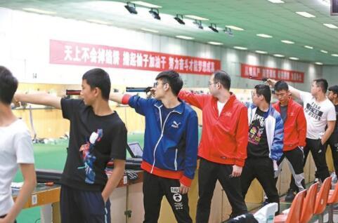 陕西省体育系统备战训练见闻