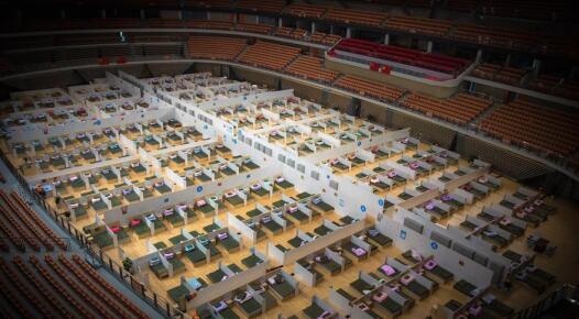 武汉市已启用7座方舱医院
