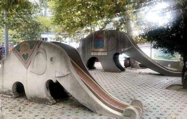 """西安兴庆宫公园提升改造将有大变化 """"大象滑滑梯""""成关注点.jpg"""