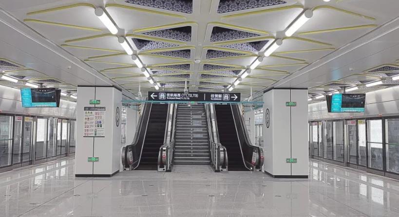 西安市地铁14号线计划 本月底开通初期运营.jpg